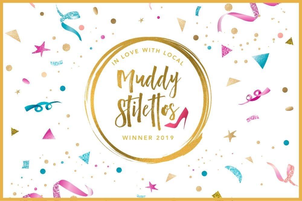 We're Muddy Stilettos Winners!