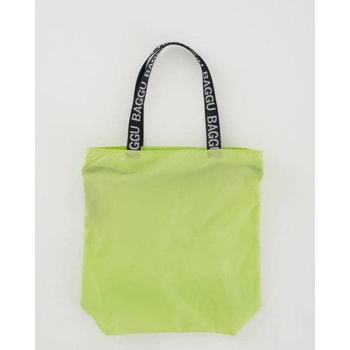 Baggu Ripstop Tote - Lime Green