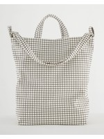 Baggu Duck Canvas Bag - Natural Grid