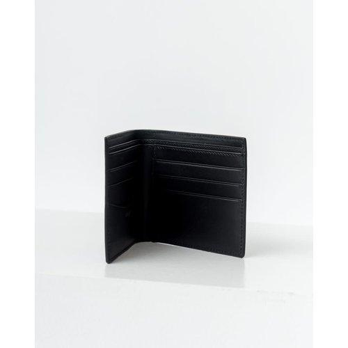 Baggu Bifold Leather Wallet - Black