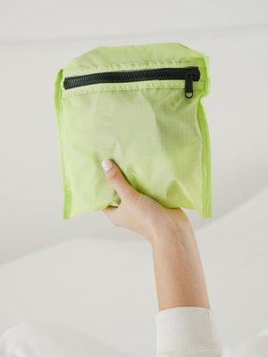 Baggu Baggu Ripstop Tote - Lime Green