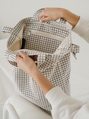 Baggu Baggu Duck Canvas Bag - Natural Grid