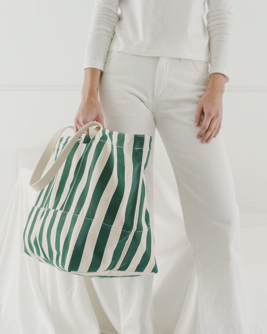 Baggu Weekend Bag Palm Stripe