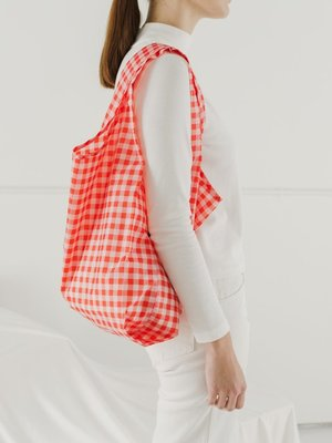 Baggu Baggu Standard Reusable Bag - Red Gingham