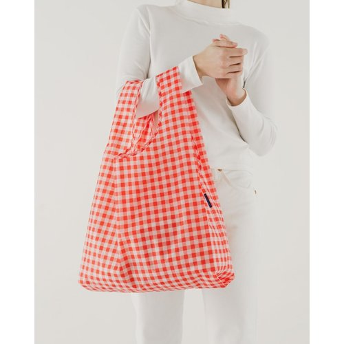 Baggu Standard Reusable Bag - Red Gingham