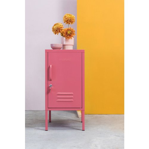 Mustard The Shorty Locker in Berry