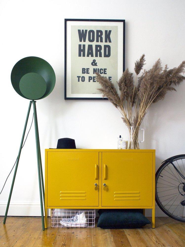 Mustard Mustard: The Lowdown Locker in Mustard