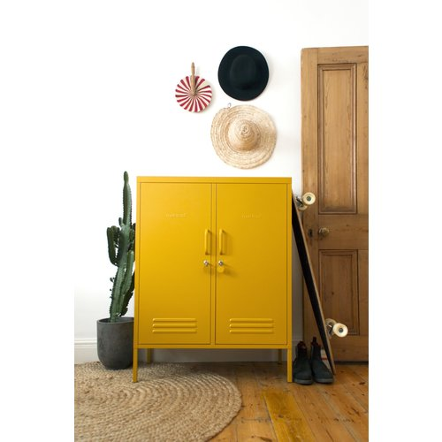 Mustard The Midi Locker in Mustard