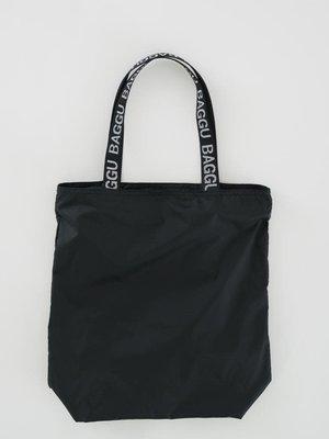 Baggu Baggu Ripstop Tote - Black