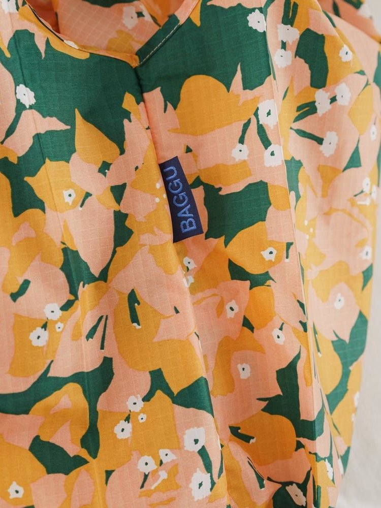 Baggu Baggu Standard Reusable Bag - Blush Bougainvillea