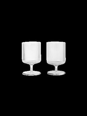 ferm LIVING ferm LIVING Ripple Wine Glasses (Set of 2)