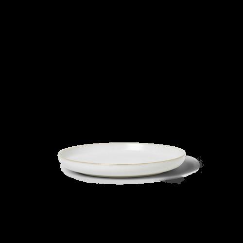ferm LIVING Sekki Plate - White/Cream - Large