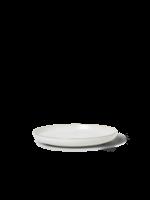 ferm LIVING Sekki Plate - White/Cream - Small