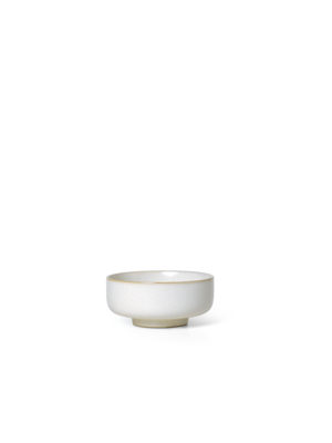 ferm LIVING Sekki Bowl - White/Cream - Small