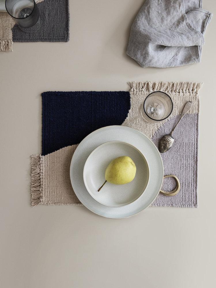 ferm LIVING Ferm Living Sekki Plate - White/Cream - Small