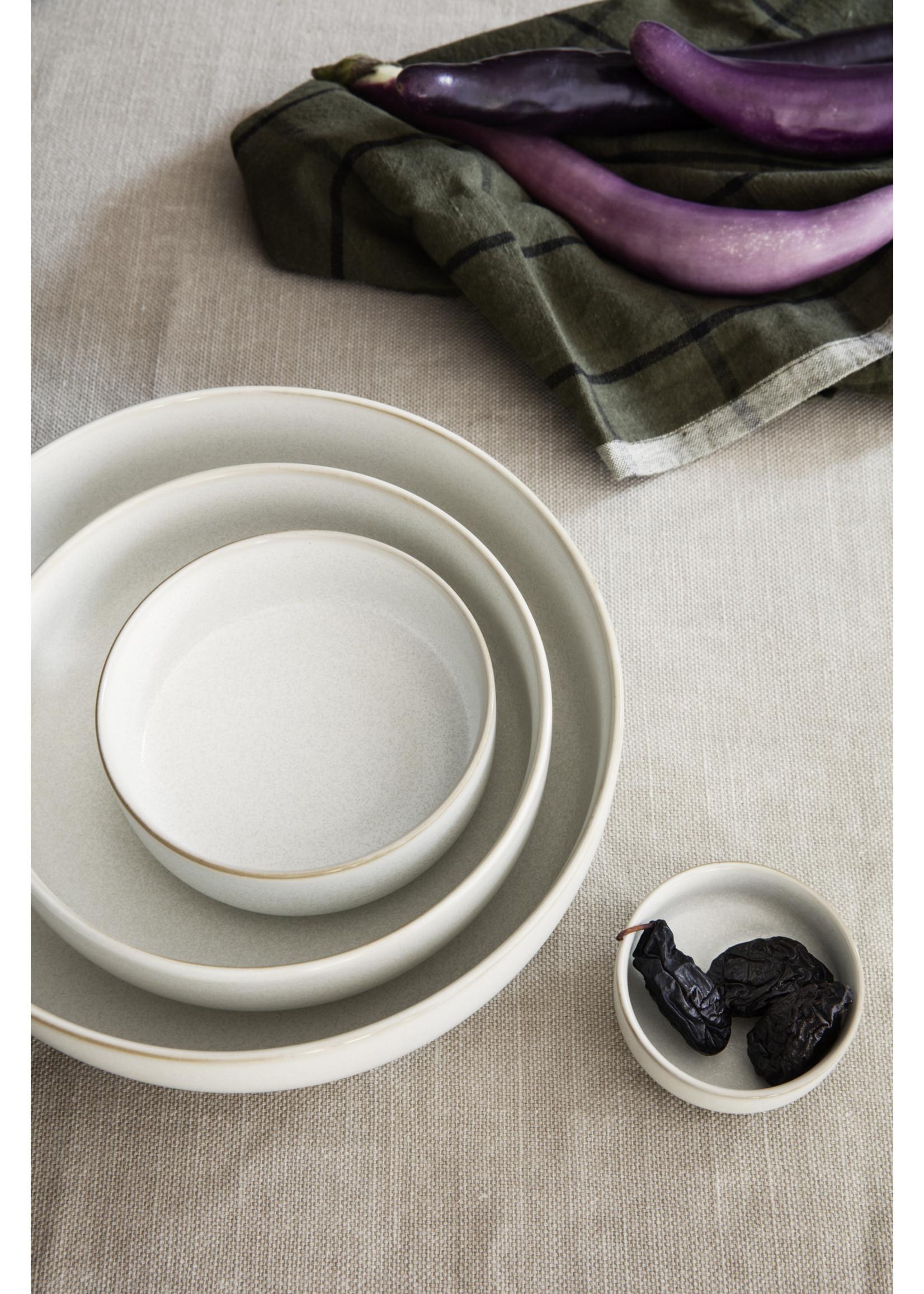 ferm LIVING Ferm Living Sekki Bowl - White/Cream - Medium