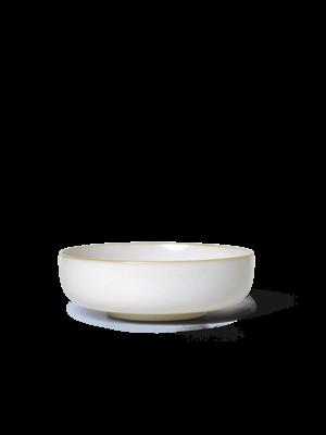 ferm LIVING Sekki Bowl - White/Cream - Large