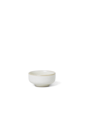 ferm LIVING Sekki Salt Jar - White/Cream