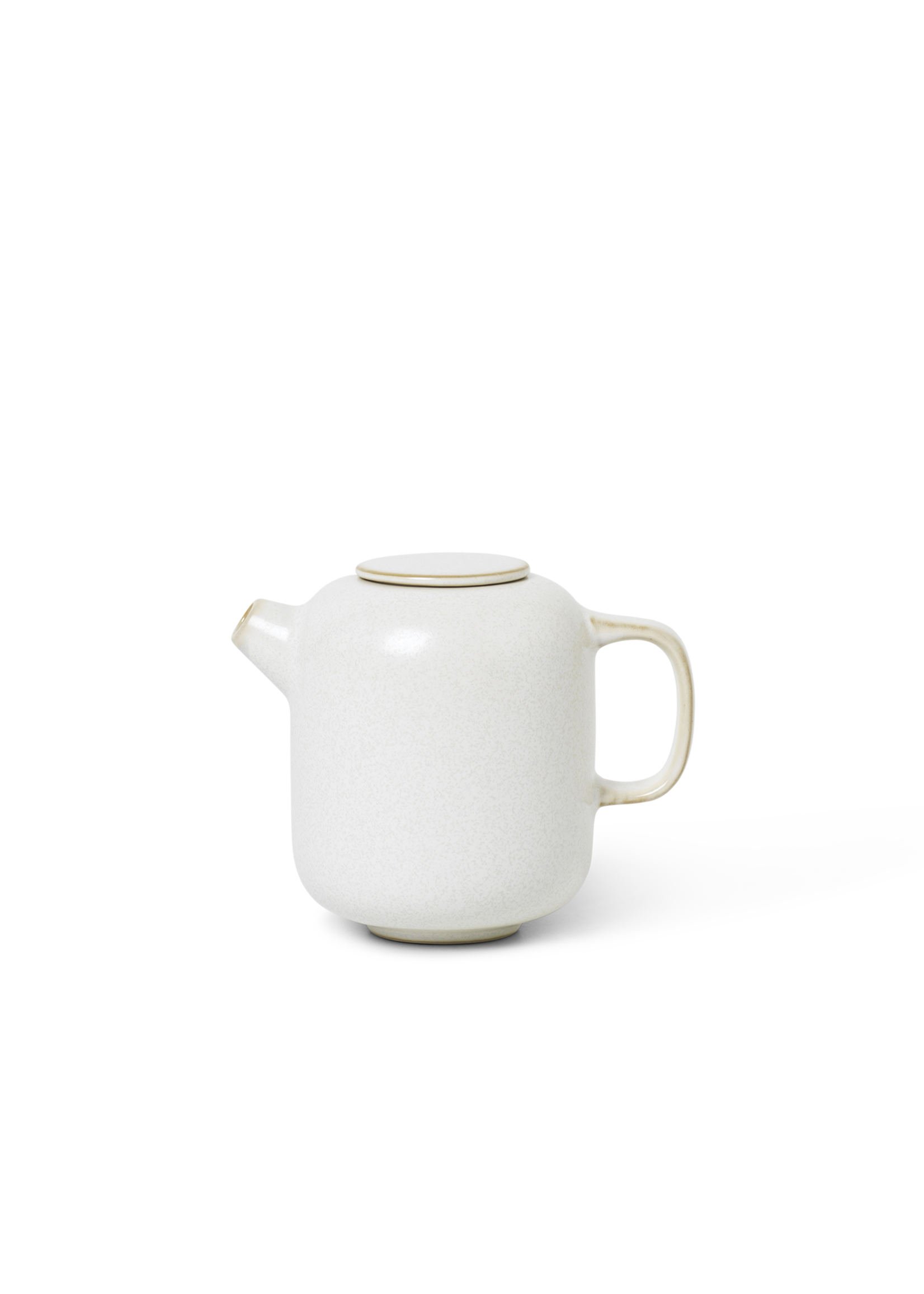 ferm LIVING Ferm Living Sekki Milk Jar - White/Cream
