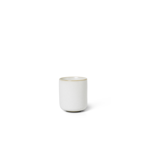 ferm LIVING Sekki Cup - White /Cream- Small
