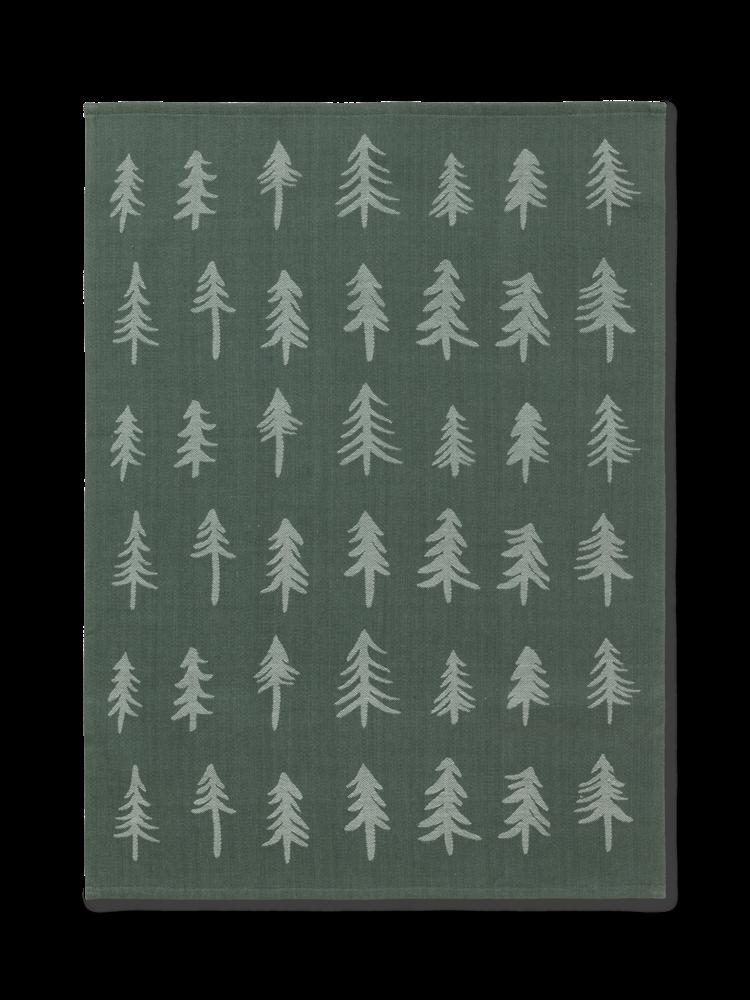 ferm LIVING ferm LIVING Christmas Tea Towel - Dark Green