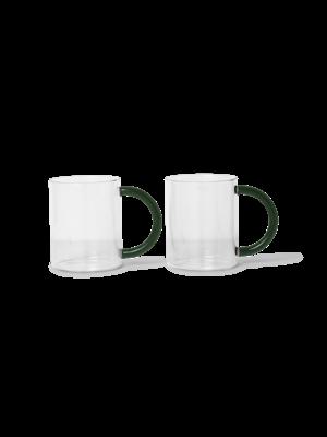 ferm LIVING ferm LIVING Still Mugs (Set of 2) - Clear