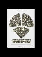 ferm LIVING Marbling Paper Cones - Black