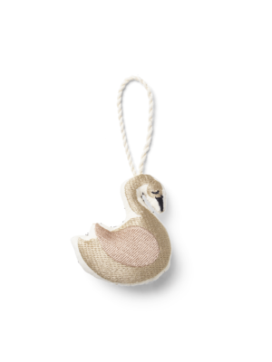 ferm LIVING CPH Embr. Ornaments - Swan