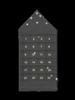 ferm LIVING Ferm Living Star Christmas Advent Calendar -Dark Green