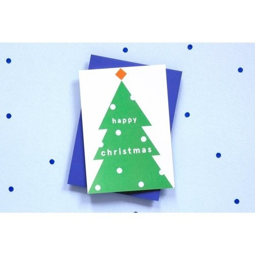 Ola OLA jr Greeting Card Christmas Tree