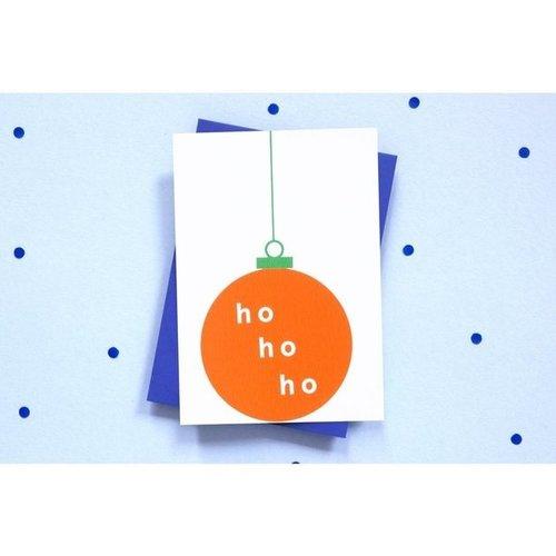 Ola OLA jr Greeting Card Christmas Bauble