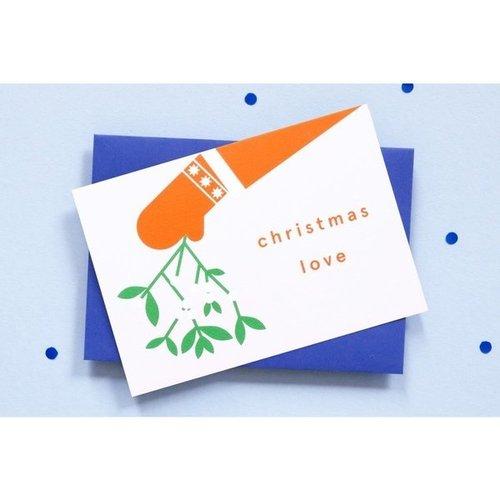 Ola OLA jr Greeting Card Mitten