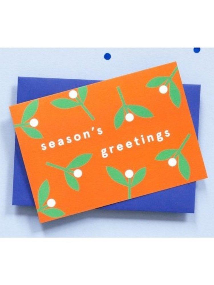 Ola OLA jr Greeting Card Season's Greetings