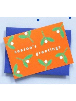 Ola OLA jr Greeting Card Season's Greetings Pack of 6