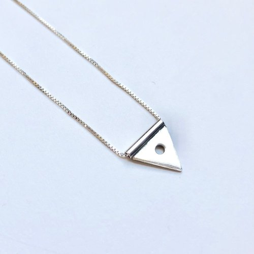 Lima Lima Triangle With Dot Necklace