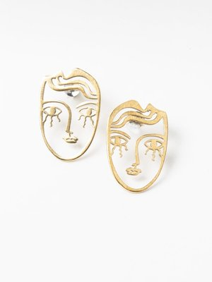 Lima Lima Small Face Studs