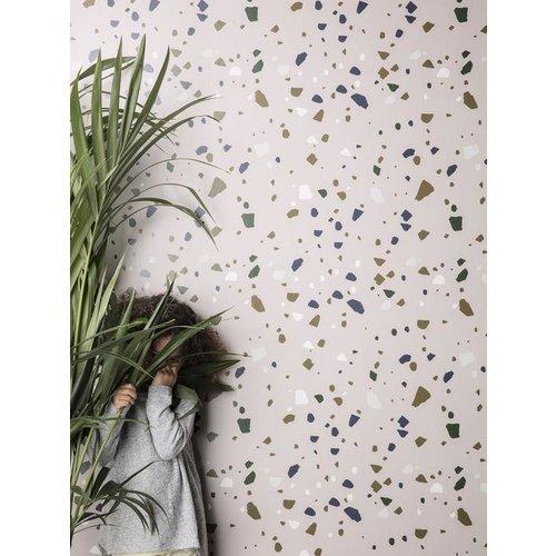 ferm LIVING Terrazzo Wallpaper
