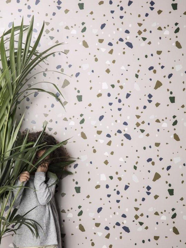 ferm LIVING ferm LIVING Terrazzo Wallpaper