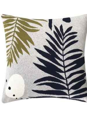 Sophie Home Botanical Grey Knitted Cushion