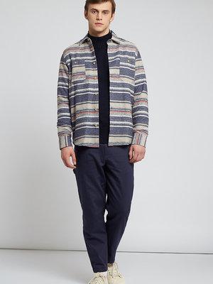HYMN London HYMN 'BLANKET' Glacier Flecked Striped Shirt