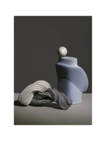 ferm LIVING Nexus 1 Print - Dusty Blue