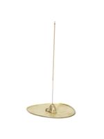 ferm LIVING Stone Incense Burner - Brass