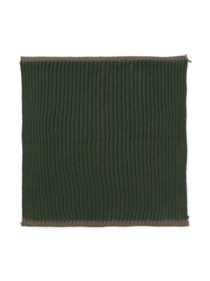 ferm LIVING Twofold Organic Cotton Dishcloth  - Green