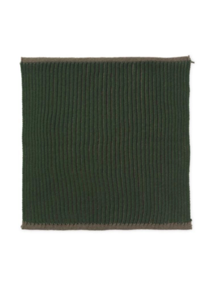 ferm LIVING ferm LIVING Twofold Organic Cotton Dishcloth  - Green