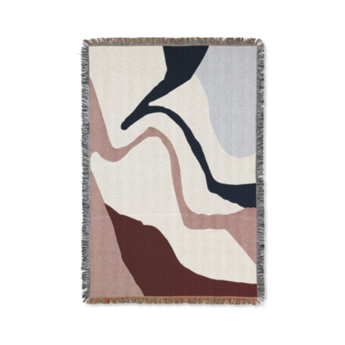 ferm LIVING Vista Blanket - Off White