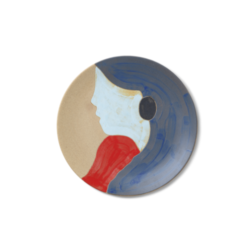 ferm LIVING Ceramic Platter - Tala