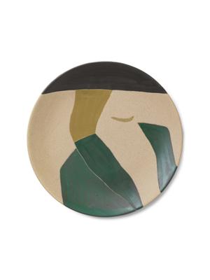 ferm LIVING Ceramic Platter - Dayo