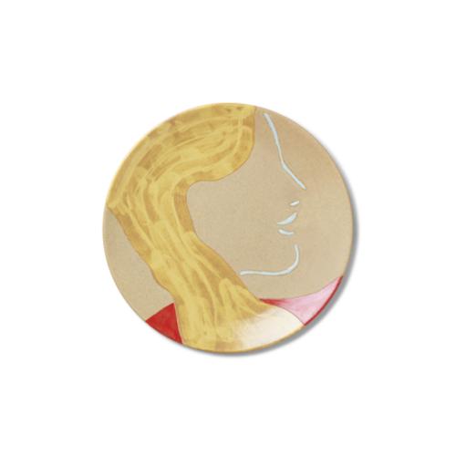 ferm LIVING Ceramic Platter - Mira