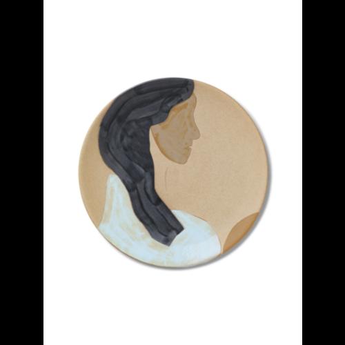 ferm LIVING Ceramic Platter - Hessa