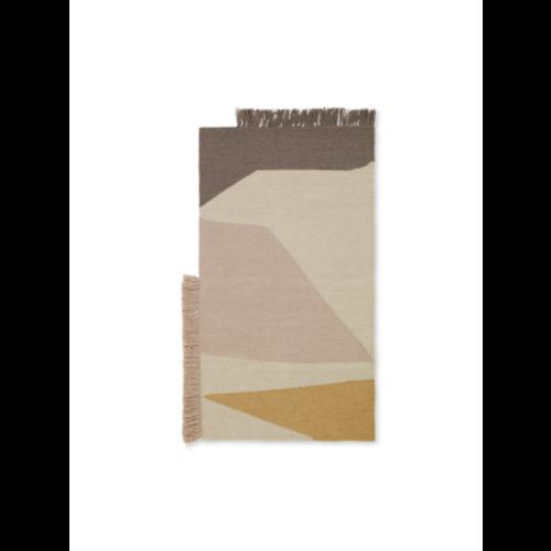 ferm LIVING Kelim Mat - Earth - 50x70